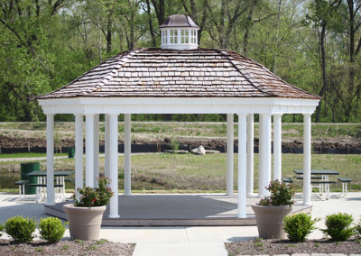 Jean Baptiste Point DuSable - Eco Park Trailhead Gazebo